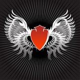 Background shield Royalty Free Stock Image