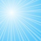 Background with shining star with divergent bundle Royalty Free Stock Images