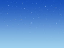 Background with shining stars. Royalty Free Stock Photo