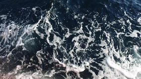 Sea water surface stock footage