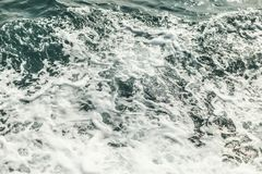 Background shot of aqua sea water surface Royalty Free Stock Photo