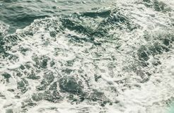 Background shot of aqua sea water surface Royalty Free Stock Photography