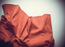 Background with silk. Curvy drapery with empty copy space Stock Photos