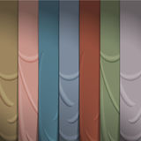 Background of silk ribbons Royalty Free Stock Photography