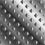 Background with silver squares Stock Photography