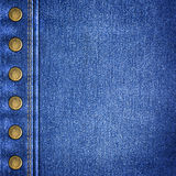 Background simple denim  close-up Stock Image