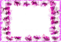 Background of simple geometrical shapes. With space for your text Royalty Free Stock Photo