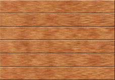 Background of the six wooden planks Stock Photos