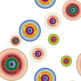 Background skate wheels. Seamless pattern royalty free stock images