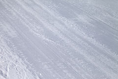 Background of ski slope Royalty Free Stock Photo