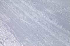Background of ski slope Royalty Free Stock Photo