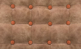 Background from skin in style Chesterfield. Pattern a patchwork in style Chesterfield, an imitation leather Royalty Free Stock Photography