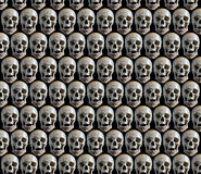 Background with skulls. Royalty Free Stock Image