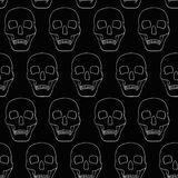 Background with  skulls Royalty Free Stock Photography