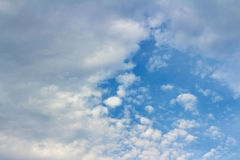 Background of the sky. A Background of the sky Royalty Free Stock Image