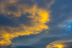Background sky with clouds Stock Photos