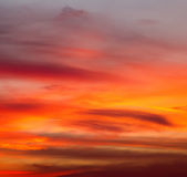 Background sky sunrise Royalty Free Stock Photography