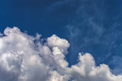 Background sky white clouds Stock Photo