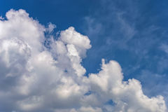 Background sky white clouds Royalty Free Stock Images