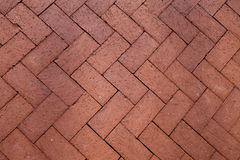 Background of slanted bricks Royalty Free Stock Images