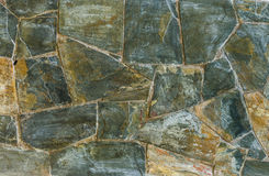 Background of slate stone wall surface Royalty Free Stock Photography
