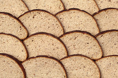 Background sliced bread Royalty Free Stock Photo