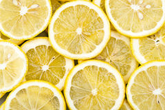 Background from slices of lemon Stock Image