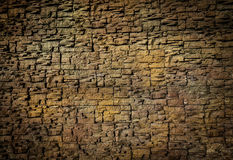 Background of small blocks brown colour Royalty Free Stock Photography
