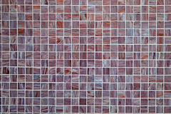 Background from small mosaic tiles Royalty Free Stock Images