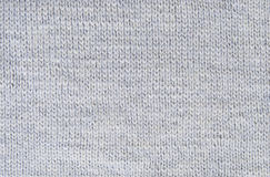 Background small pattern of gray wool knitting yarn Royalty Free Stock Photography