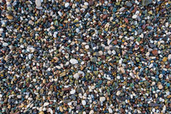 Background of small pebbles Royalty Free Stock Photography