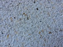 Texture of white sandy stone stock image