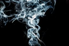 Background smoke Art detail. Background Royalty Free Stock Photo