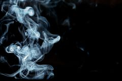Background smoke Art detail. Background smoke Art closeup detail Stock Images