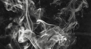 Background smoke Royalty Free Stock Photos