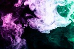 Background of smoke vape Royalty Free Stock Image