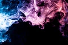 Background of smoke vape Royalty Free Stock Images