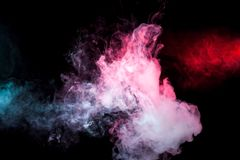 Background from the smoke of vape royalty free stock images