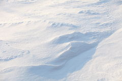 Background from snow Royalty Free Stock Photos