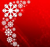 BACKGROUND WITH SNOW Stock Images