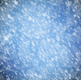 Background with snow Royalty Free Stock Images