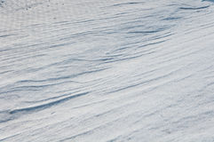 Background of snow dunes Royalty Free Stock Photo
