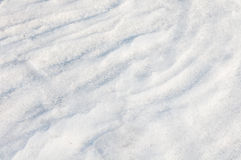 Background of the snow dunes Royalty Free Stock Photos