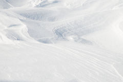 Background of snow. Formed nicely by wind Royalty Free Stock Photography