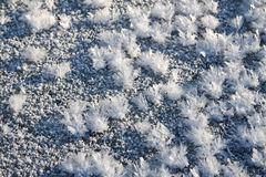 Background from snow glinting in the sun Royalty Free Stock Photos