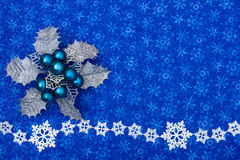 background snowflake 库存图片