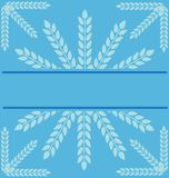 Background with snowflake Stock Photos