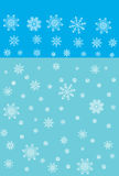 Background a snowflake Stock Photography