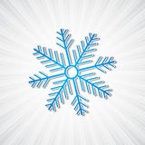 Background with snowflake Stock Images