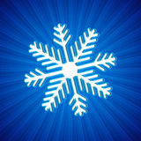 Background with snowflake Stock Photo